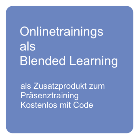 Onlinetrainings als Blended Learning