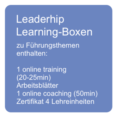 Leadership Learning Boxen