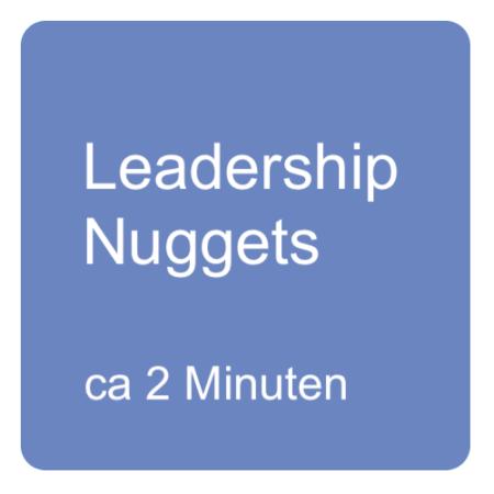 Leadership Nuggets